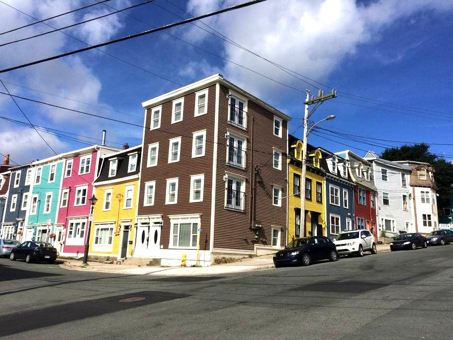 Apartment on Jelly Bean Row, Suite 2 - St. John's - Lejlighed