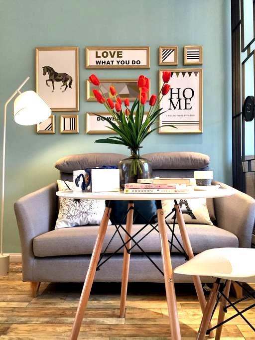 Tiffany蓝 的家居范 - 宁波市 - อพาร์ทเมนท์