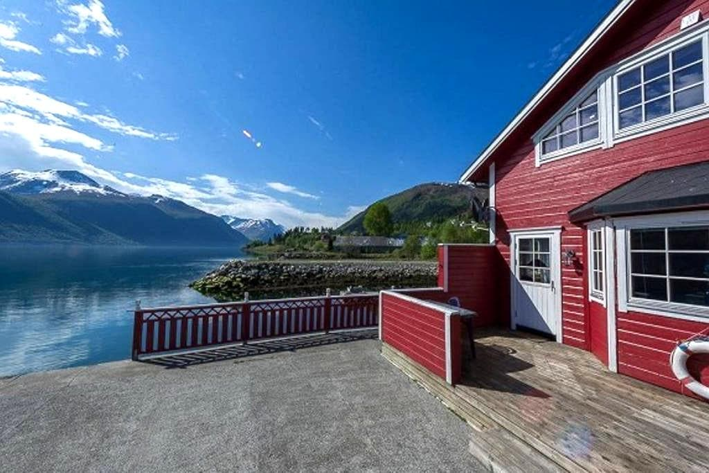 Rorbu Fisherman's cabin Dalsfjord - Lauvstad