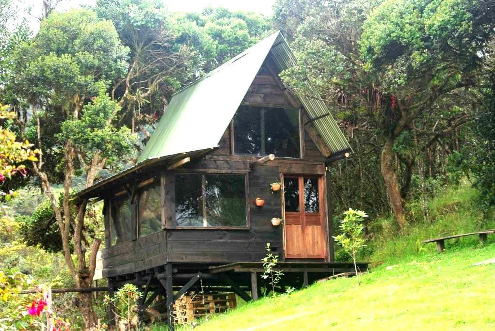Linda cabaña! Tranquilidad y naturaleza -La Calera - La Calera