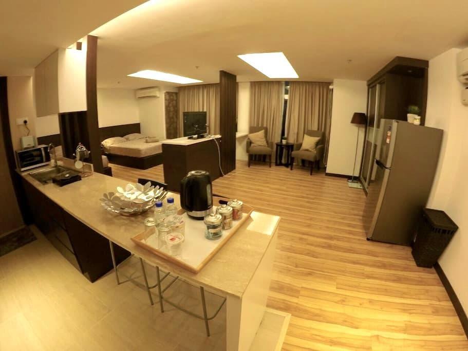 Spacious Studio @ Kota Bharu City Point - Kota Bharu - Byt
