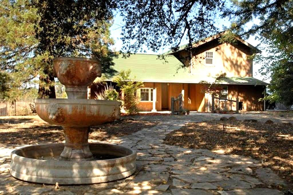 Private, Charming house on 24 acres - Sebastopol - Huis
