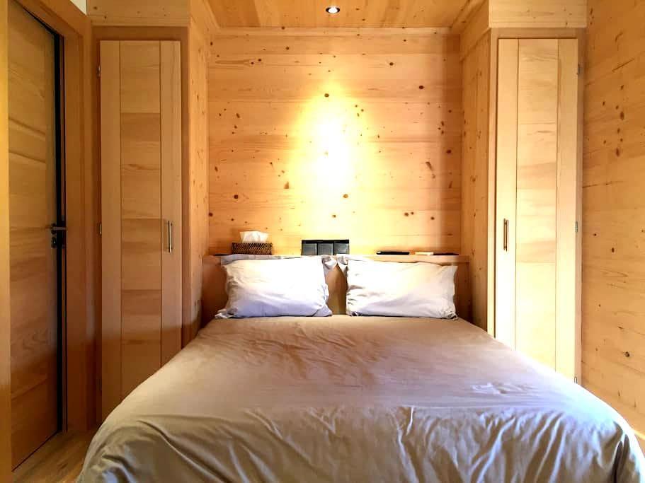 2 chambres privées dans chalet neuf - Combloux - Alpehytte