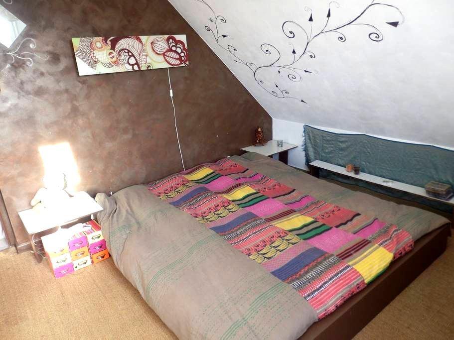 chambre chez l'habitant sur EuroVélo6 - Fraisans - Casa