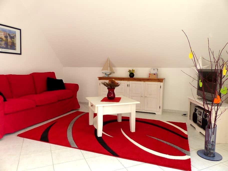 ruhige Ferienwohnung mit Balkon - Ostseebad Heringsdorf - Apartemen