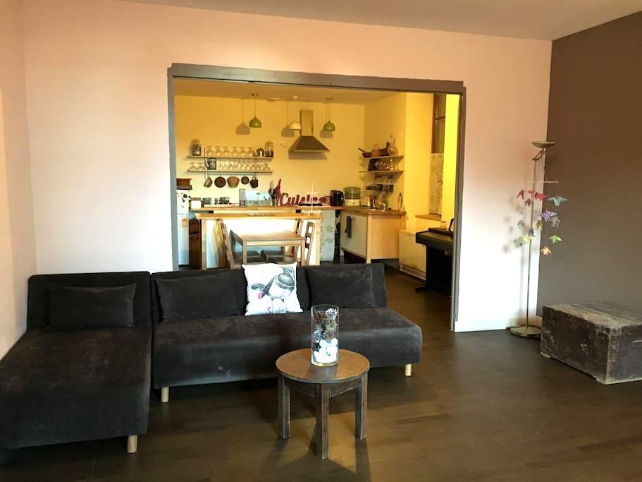 Un charmant appartement de village - Serres - Daire