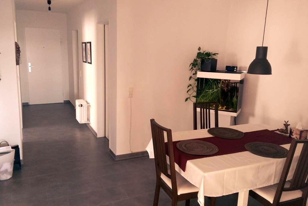 Guest room with beautiful view near Daimler - Sindelfingen - Apartemen