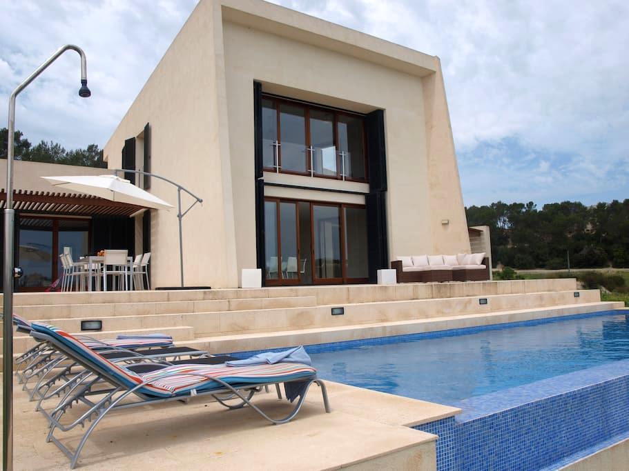 Villa de diseño moderno en Mallorca - Sant Joan - Villa