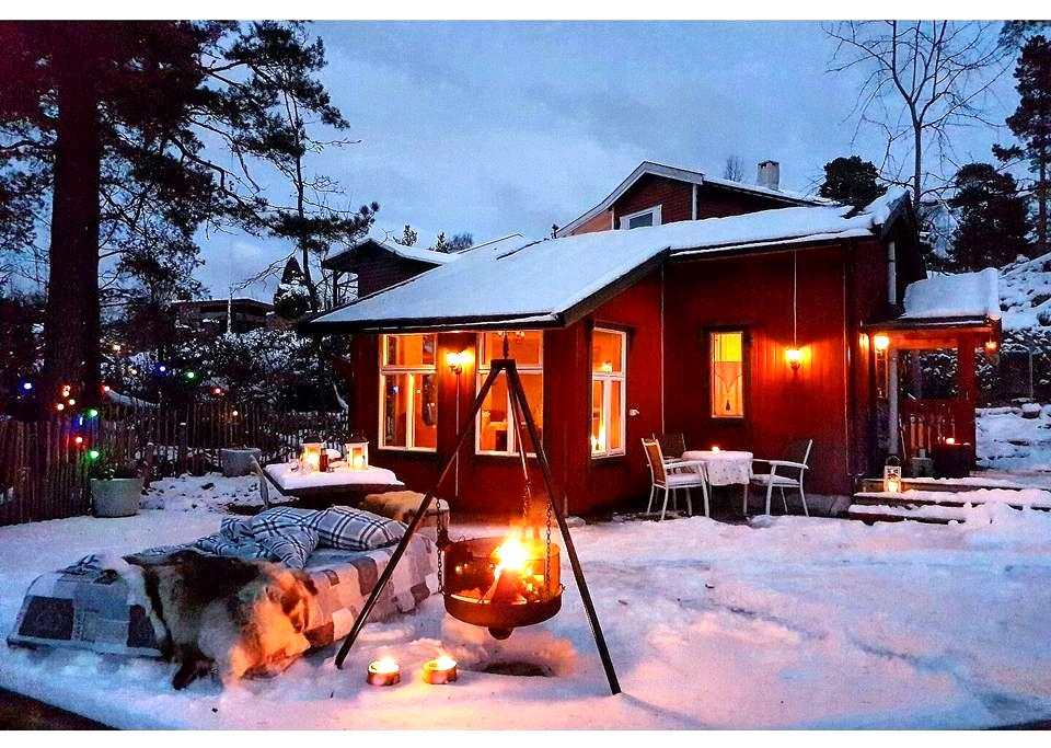 The real Norwegian cabin experience
