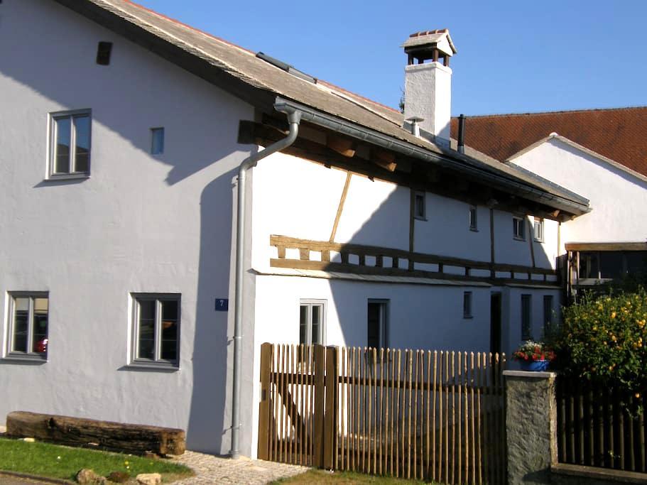 "Denkmalhaus ""Beim Kirchenschuster"" - Schernfeld - Appartement"