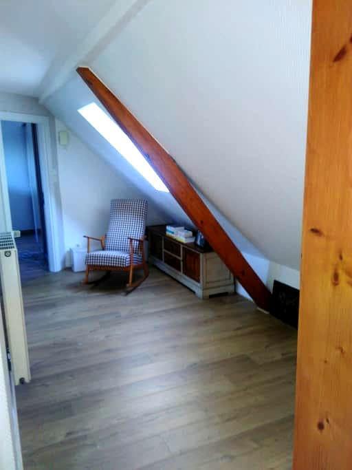 Jolie chambre moderne lumineuse 10 min Strasbourg - Schiltigheim - Huis