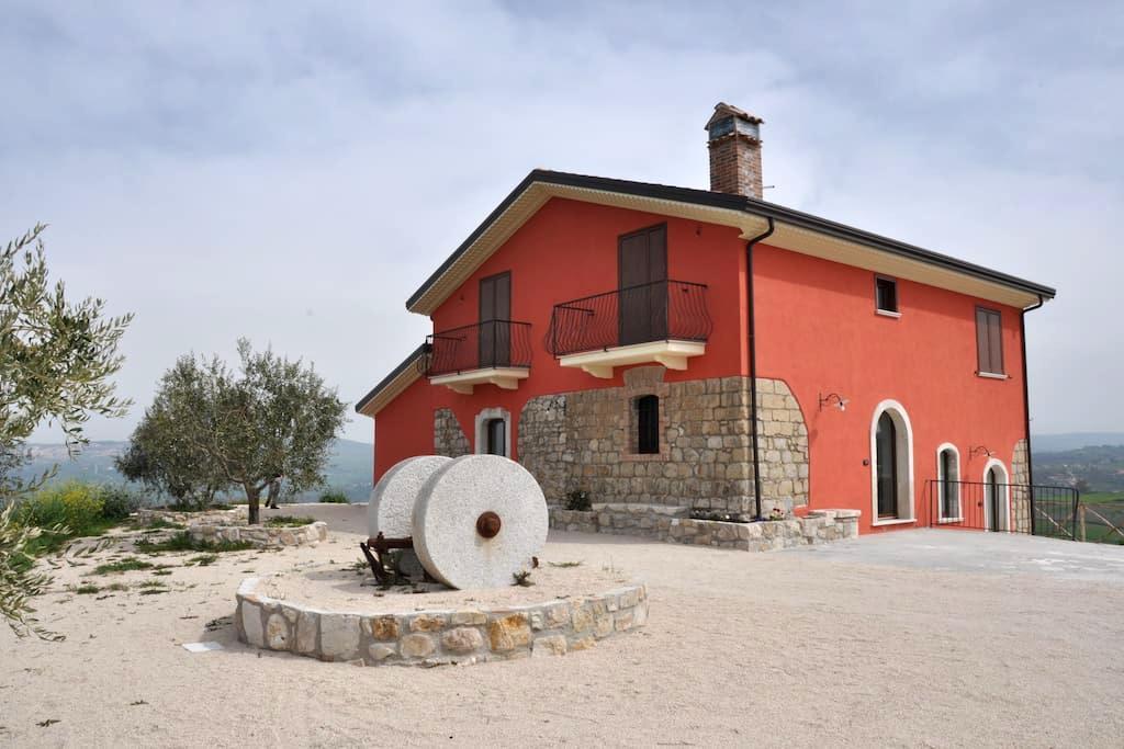 Stanza Agriturismo San Michele - Paternopoli - ที่พักพร้อมอาหารเช้า