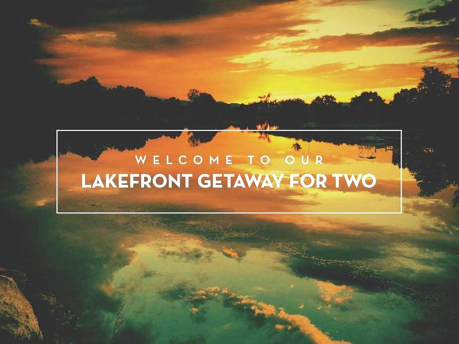 Lakefront Getaway for Two - Fort Collins