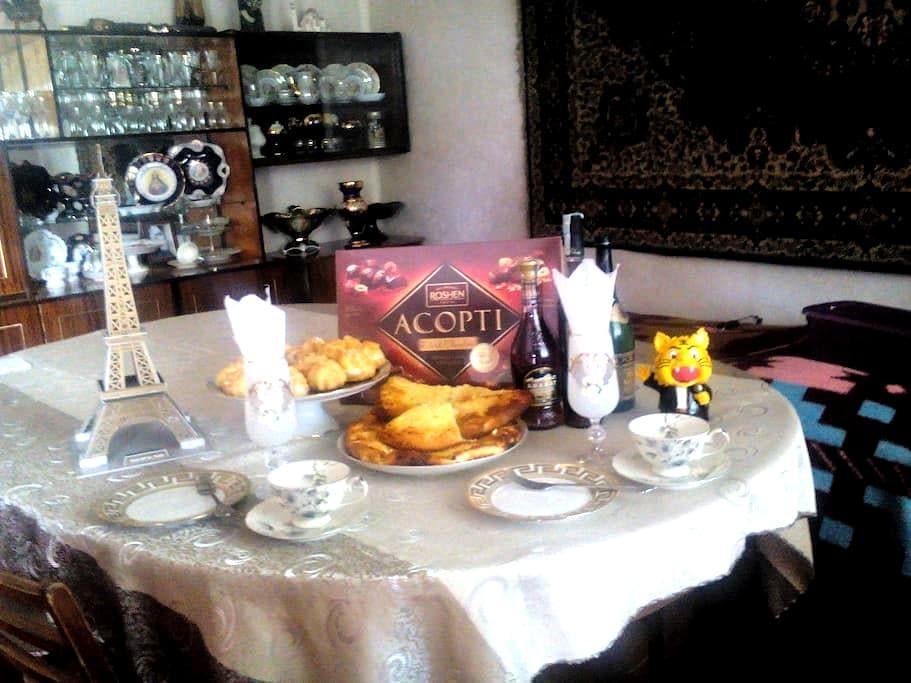 WELCOME TO AKHALTSIKHE.Cosy family friendly home. - Akhaltsikhe - Bed & Breakfast