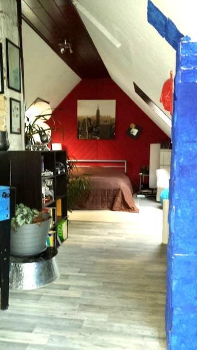 Ein großes offene Zimmer, 50qm - Talstraße 15