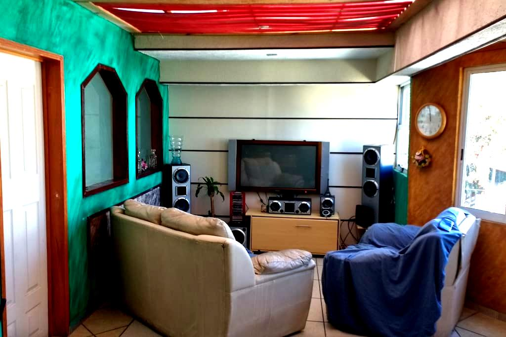 Green,relax,quite close to Foro Sol - Mexiko-Stadt - Wohnung