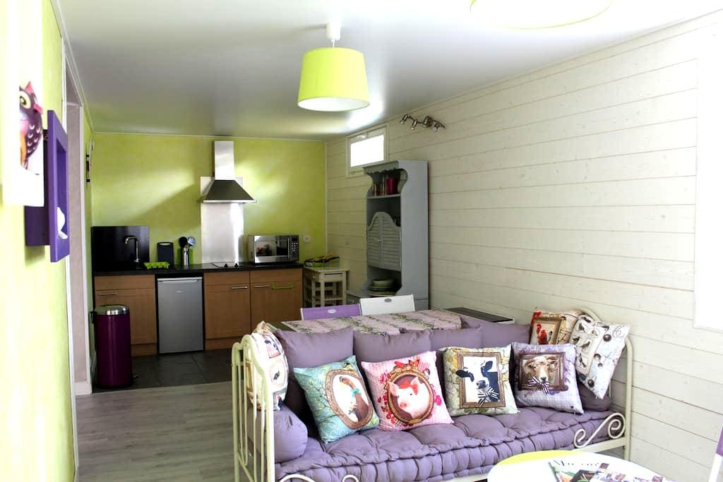 appartement en rez de chalet - Margencel - Apartemen