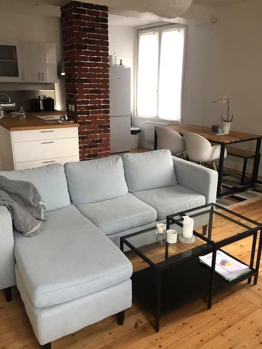 Appartement proche du centre ville - Marcq-en-Barœul - Appartement