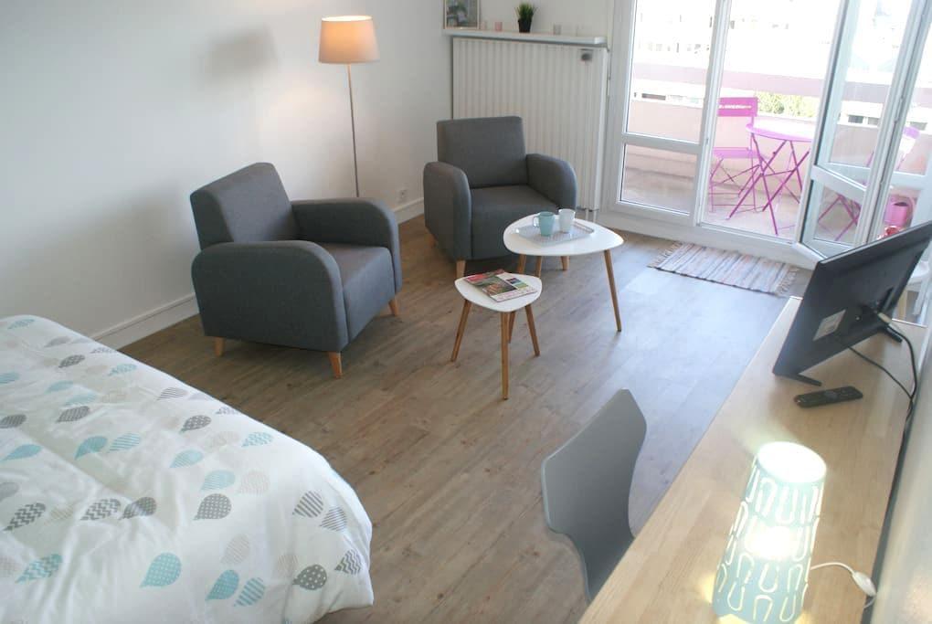 Appartement Perle d'Ô, Gare et Centre-ville à pied - Saint-Brieuc - Byt