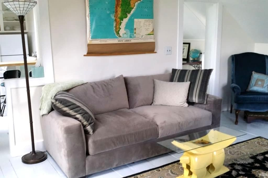 Sunny apt in 1873 Colonial, recently renovated! - Plainfield - Apartment