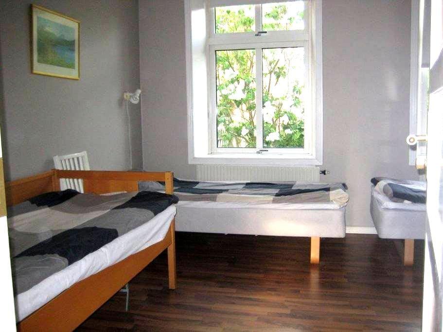 Fair 4 beds apartment- close to CPH - Landskrona