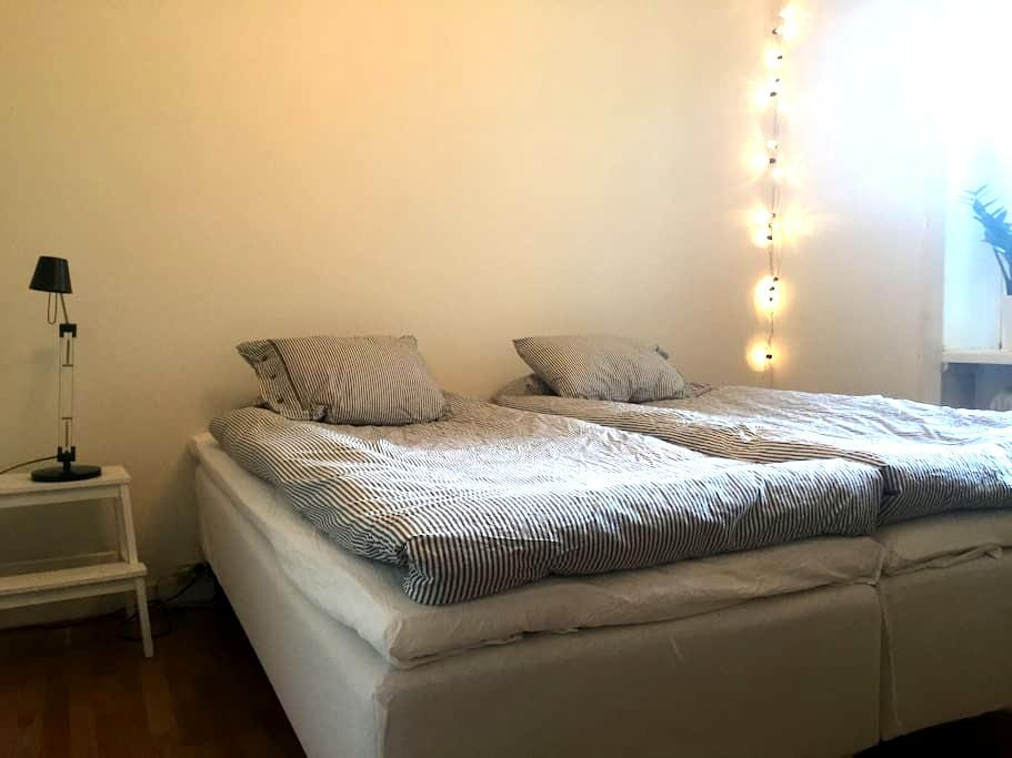 Cosy and charming room for a perfect stay in SOFO - Sztokholm - Apartament