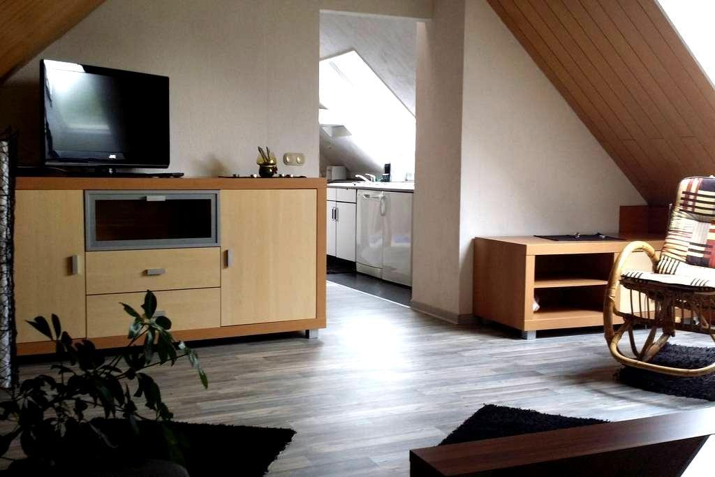 DG-Wohnung im Mehrfamilienhaus - Garbsen - House