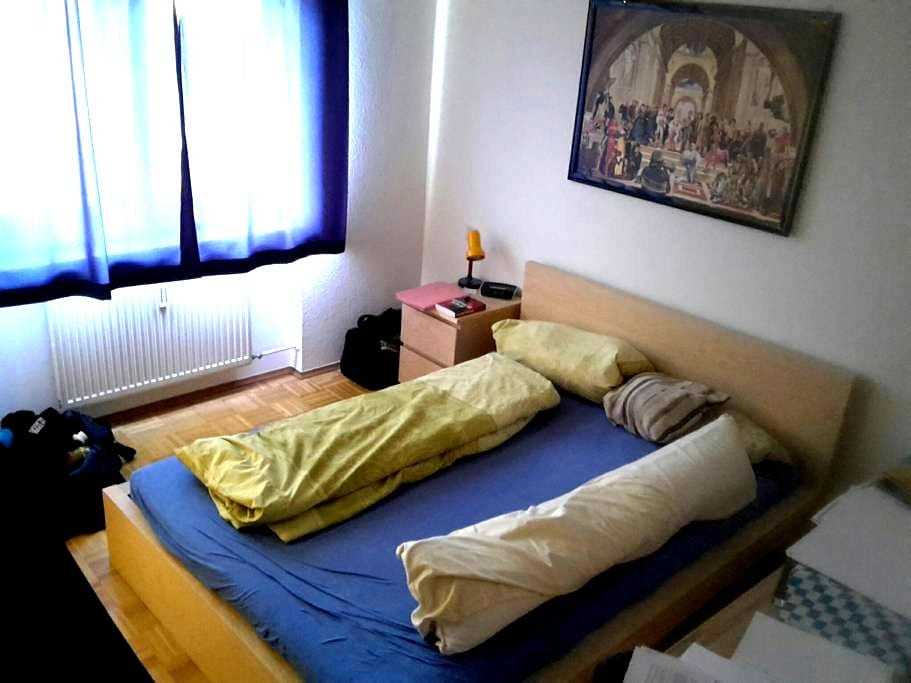 2 ZBK, Bett und Couch - Bad Dürkheim - Appartamento