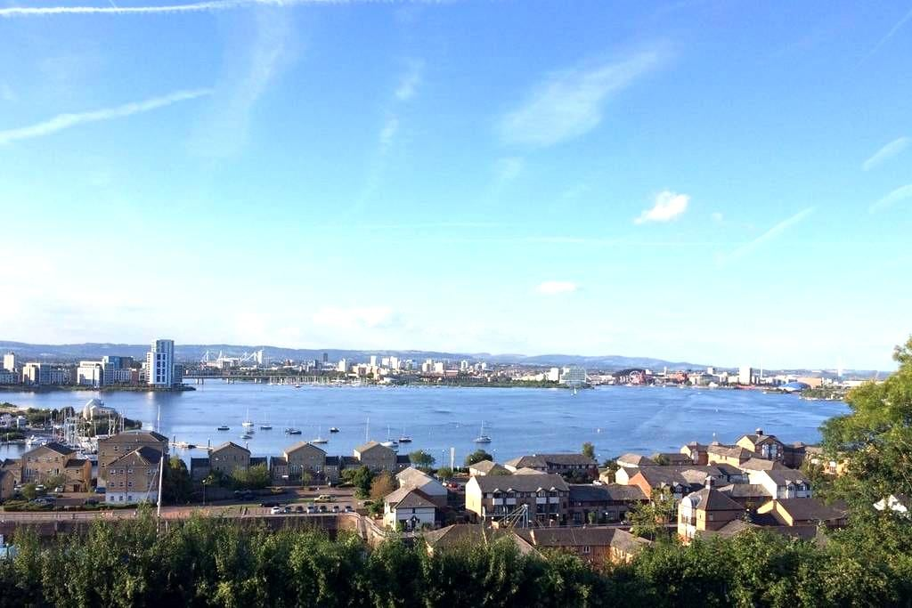 Attractive private living space, excellent view! - Penarth - 其它