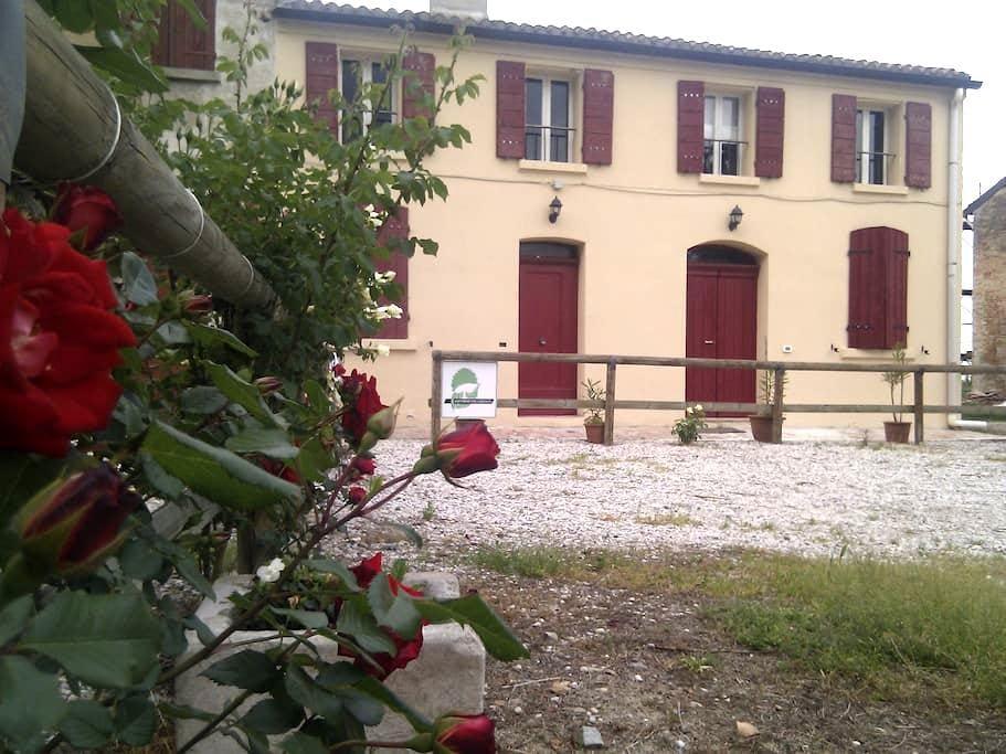 large apartment in farmhouse - Tresigallo-final di Rero
