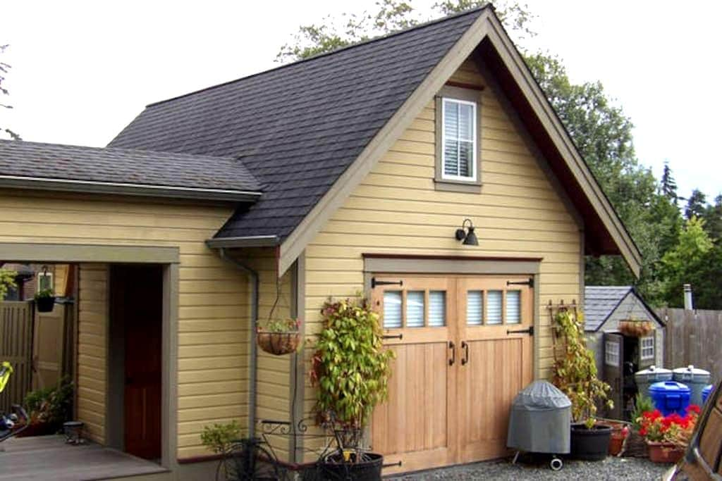 The Carriage House On Cedar street - Friday Harbor - Kabin
