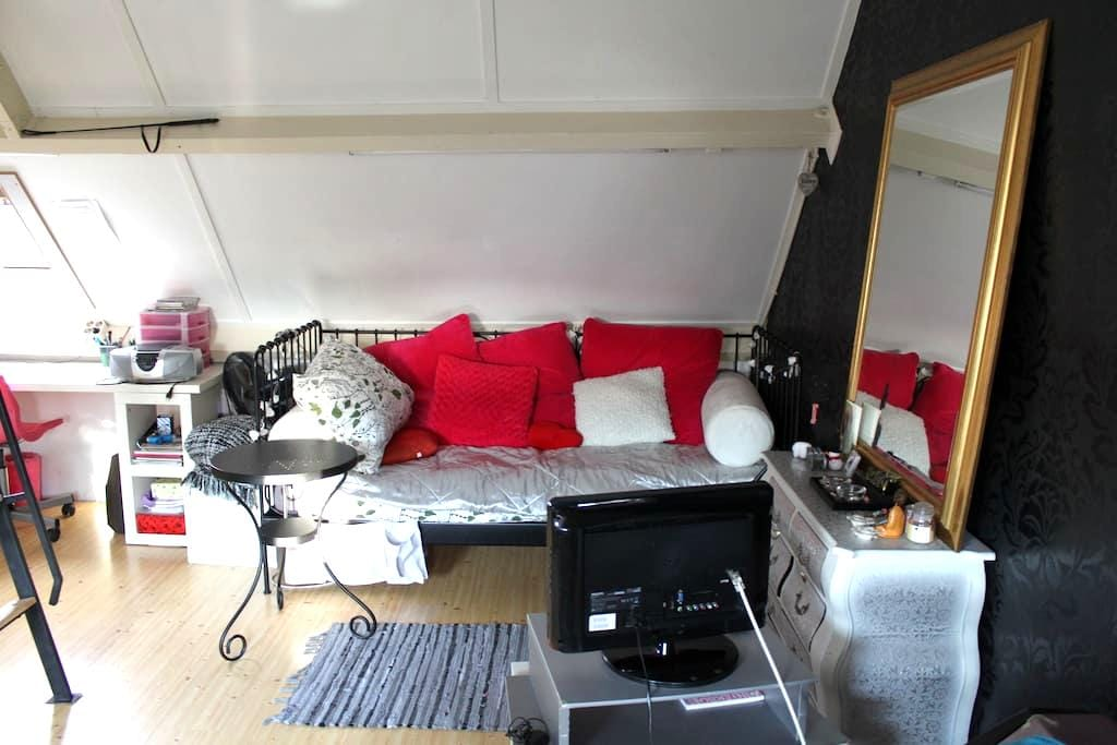 Nice attic room, nearby Strijp S and city center - Eindhoven - Casa