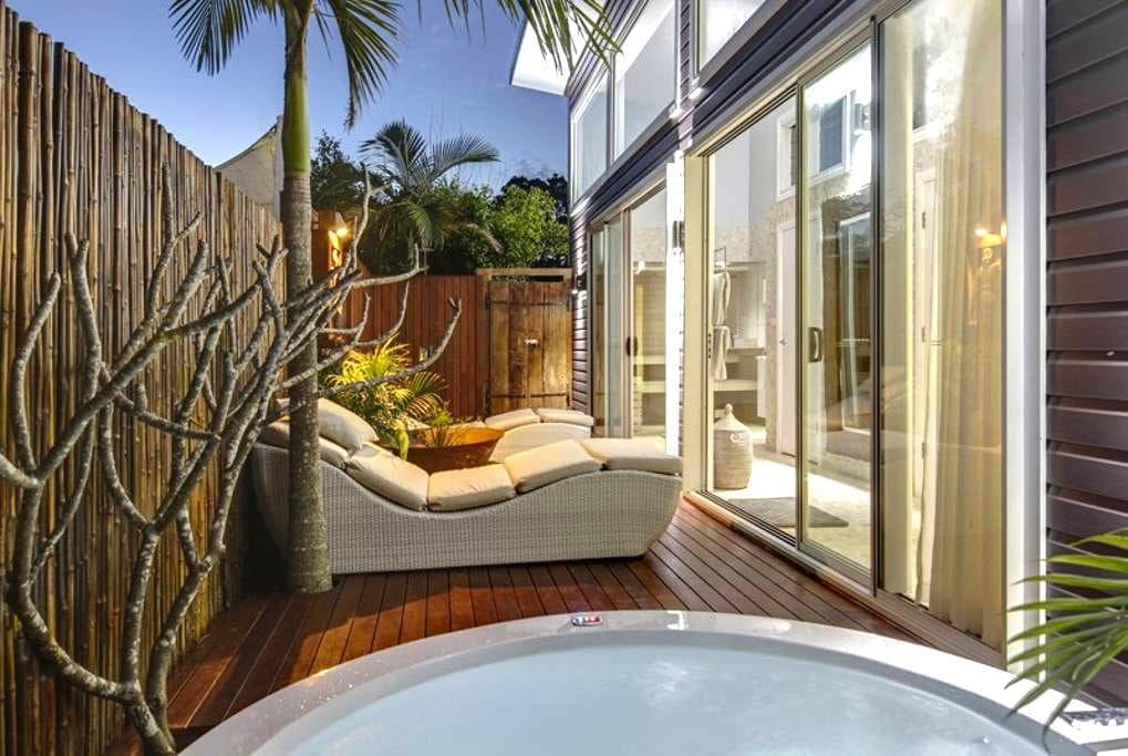 BATHHOUSE 2 BEDROOM SPA APPT - BYRON HINTERLAND - Newrybar - Apartment