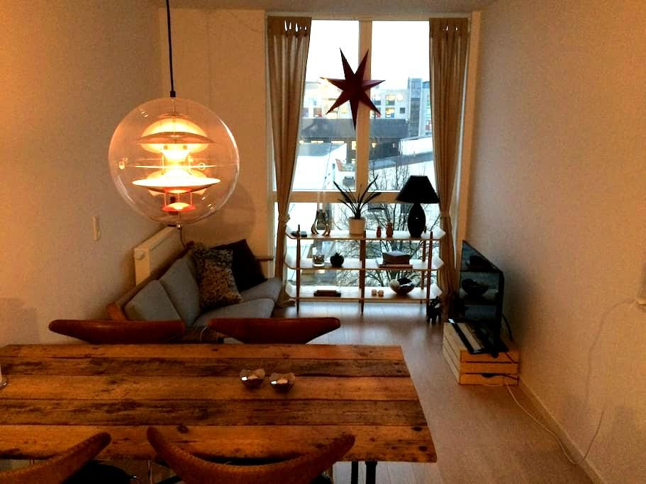 Modern NEW apartment from 2015 with rooftop garden - København