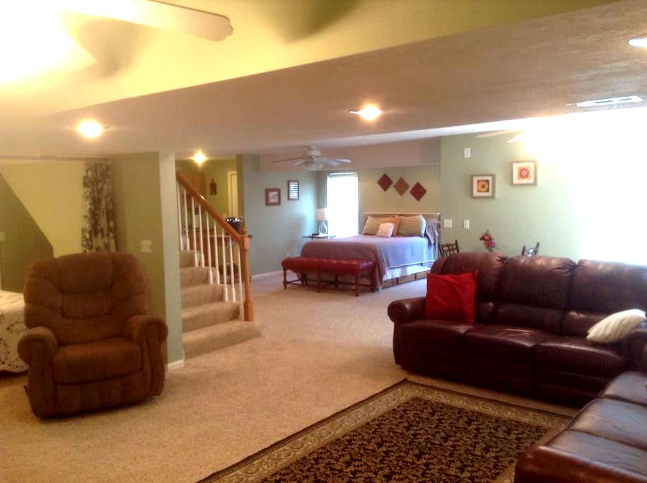 Country Retreat Near KCI Airport - Platte City - Hus