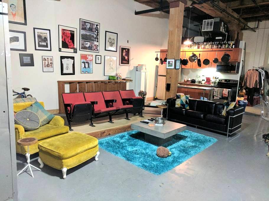 Charming Downtown LA Arts District Loft - Los Ángeles - Loft