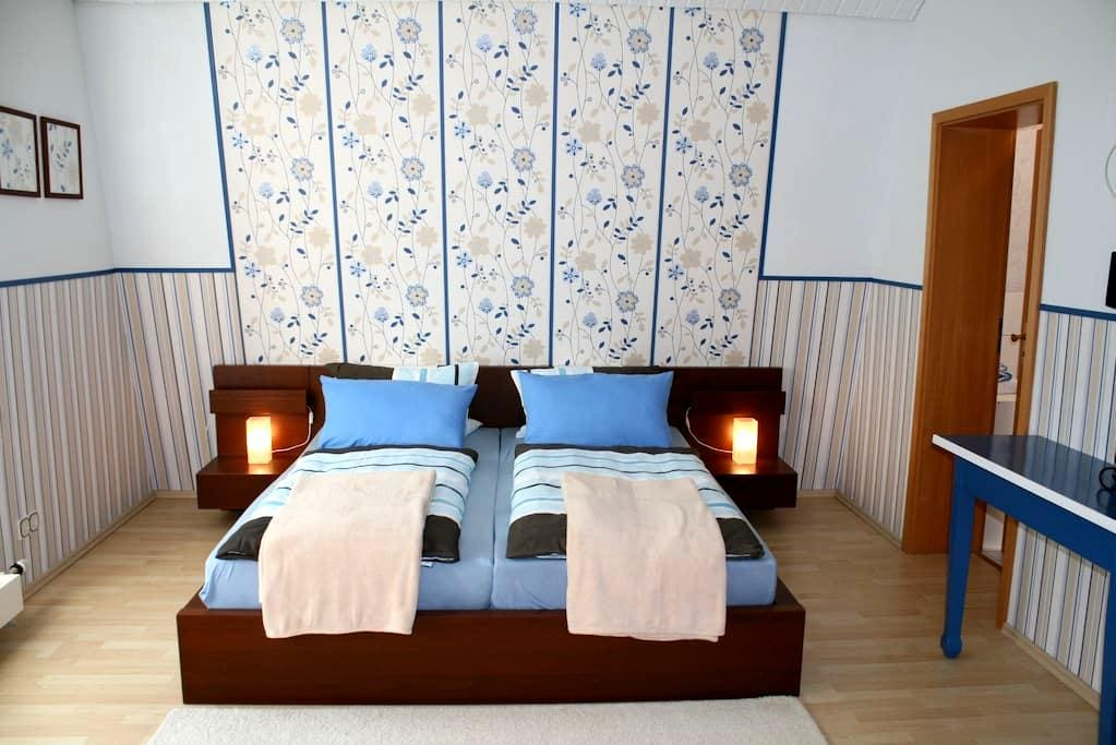 cozy double room / shower/toilet N2 - Bacharach