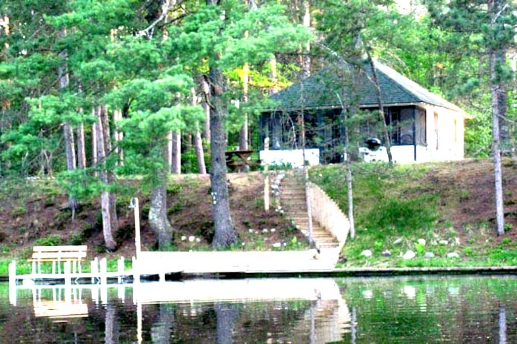 Angler's Cozy Cottage/Manitowish Chain of 10 Lakes - Manitowish Waters