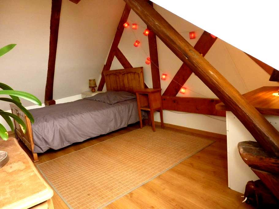 24h of le Mans guest room - Brette-les-Pins - Hus
