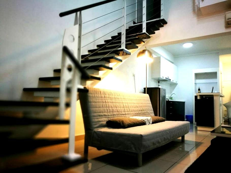 Garden Duplex | Scott Garden KL - Kuala Lumpur - Apartment