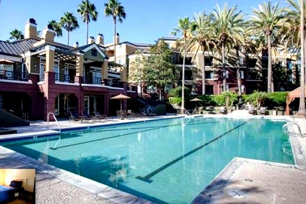 Private room 2-Irvine/newport Beach - Newport Beach - Apartament