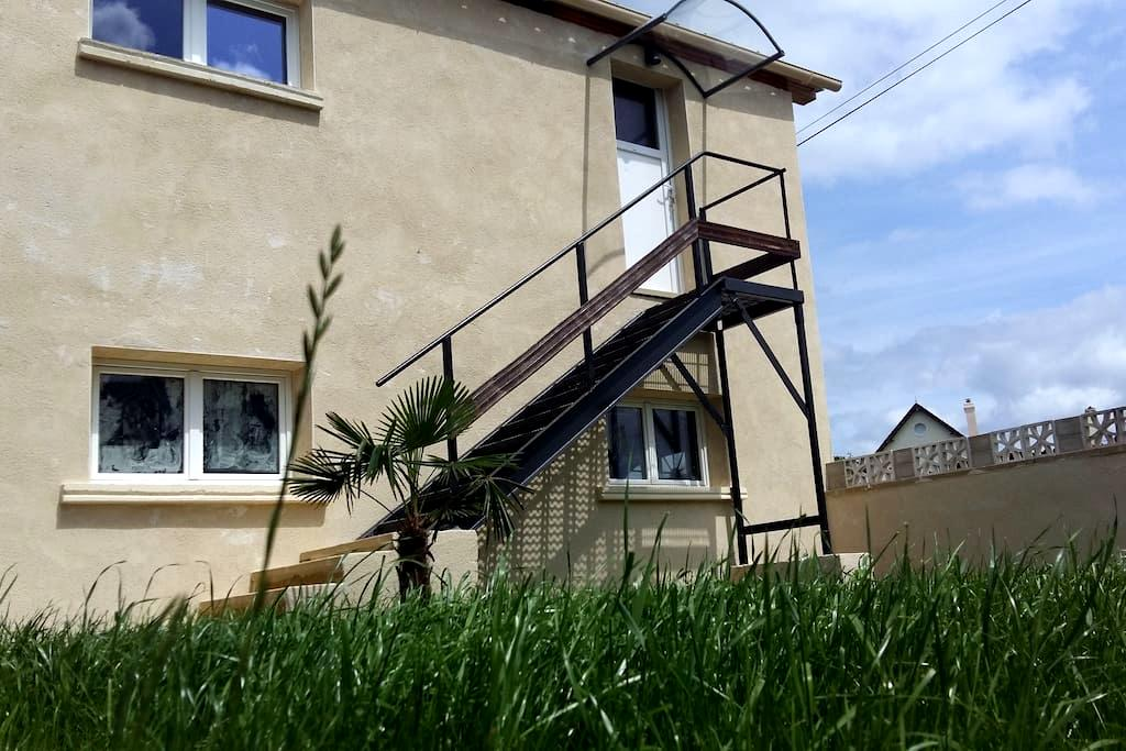 Appartement LE CONQUERANT proche Cabourg - Dives-sur-Mer - Apartamento