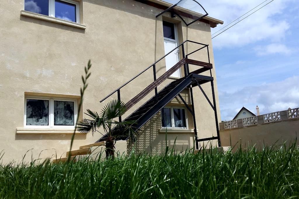Appartement LE CONQUERANT proche Cabourg - Dives-sur-Mer - อพาร์ทเมนท์