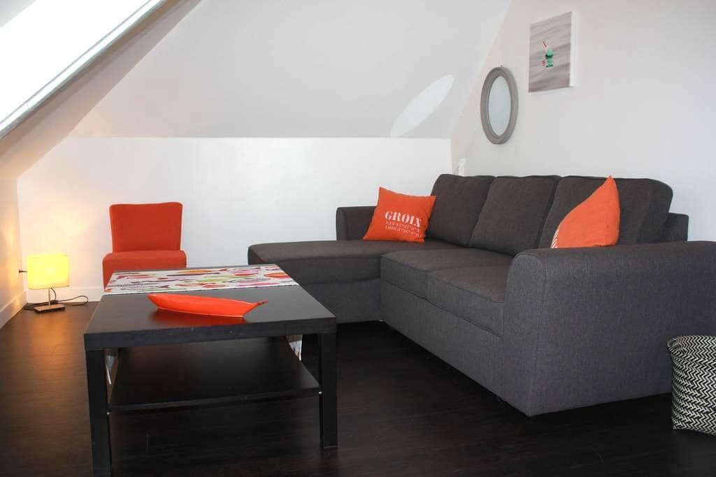 Bel appartement en centre ville - Pont-Aven - Apartemen