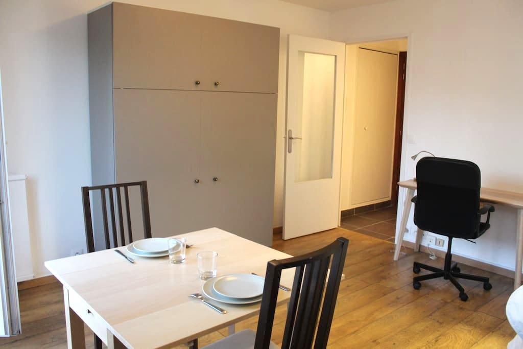 Welcome to Bruno, functional and quiet studio - Paris - Apartment