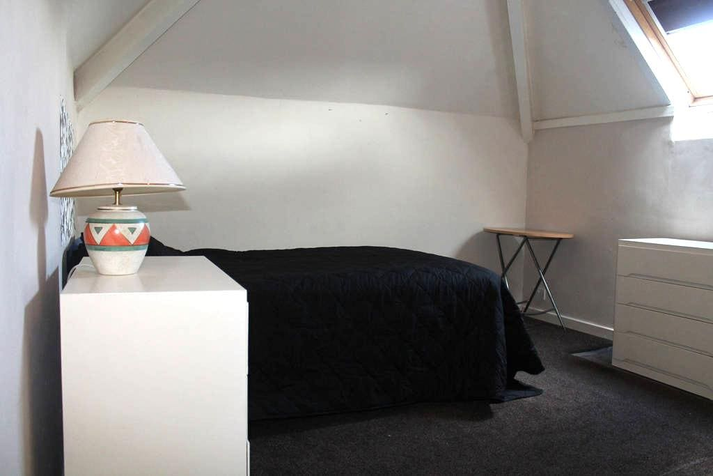Double room with double bed - Blackpool - Dom