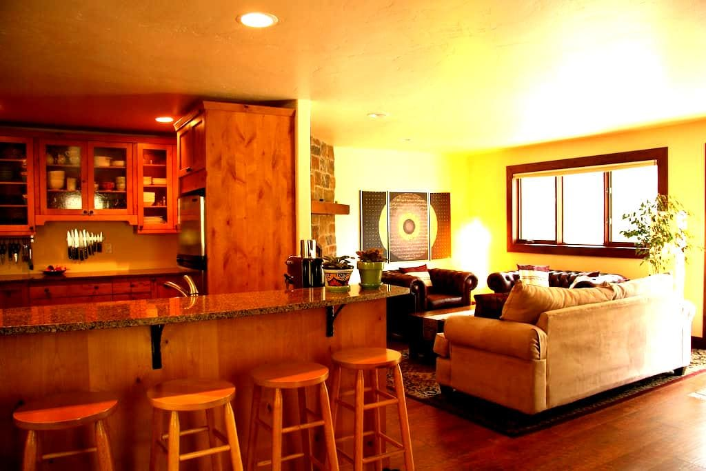 Beautiful condo in a forest of aspens in East Vail - Vail - Appartement en résidence