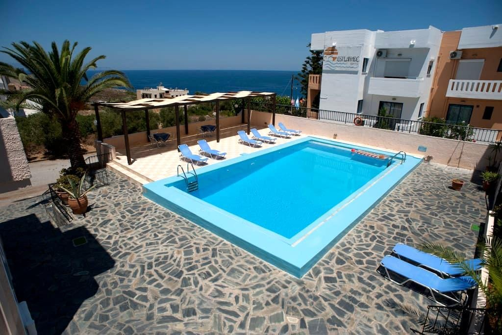 VillaAlexander spacious 2B Apt Pool - Kalathas - Wohnung