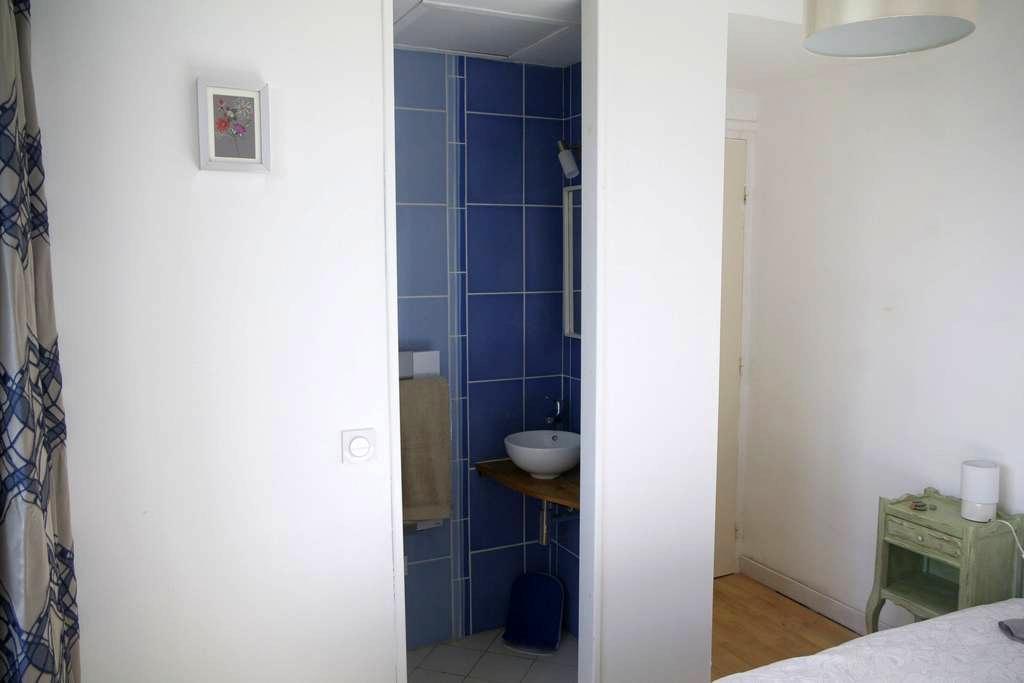 Chambre d'hotes dans un petit village cotier CH1 - Lampaul-Ploudalmézeau - Bed & Breakfast