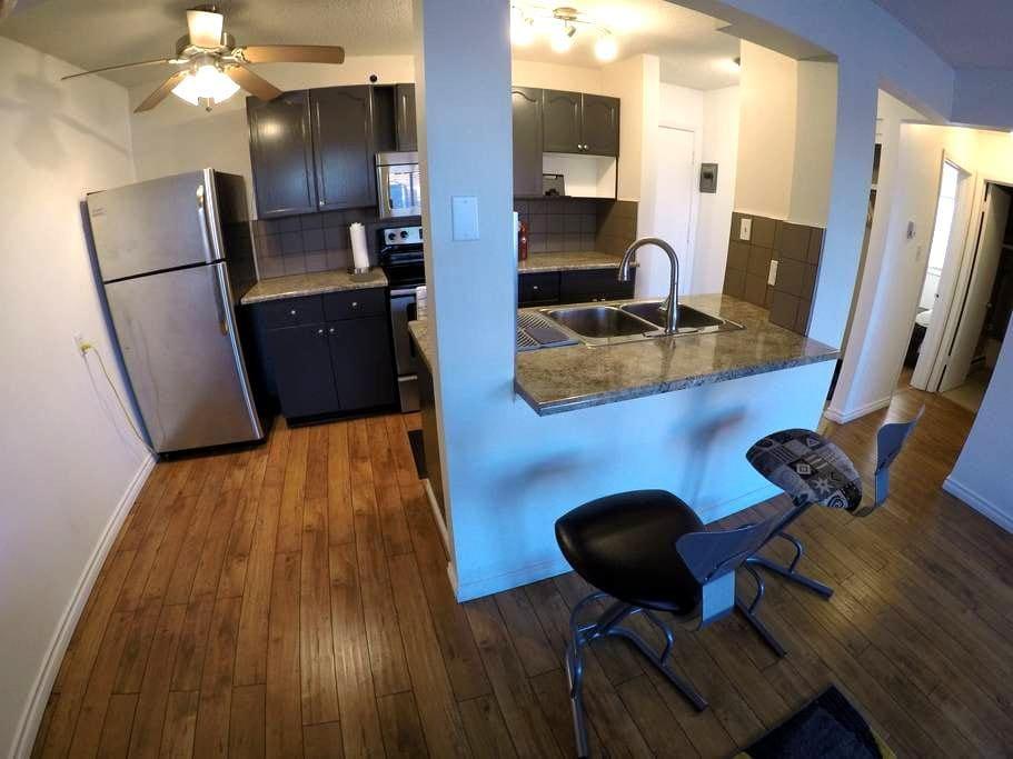 Dntwn-Topfloor-wlk to Roger's Place - Edmonton - Appartement
